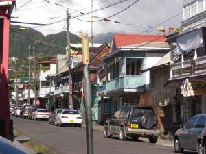 Roseau capital of Dominica